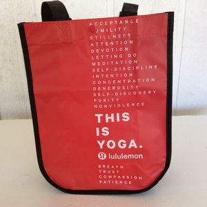 LULULEMON MIN SHOPPING TOTE THIS IS YOGA